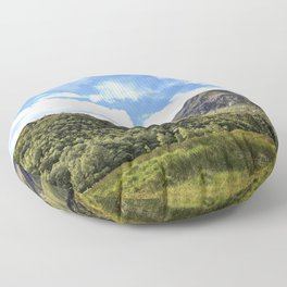 A walk in the Scottish Highlands, Glencoe. Floor Pillow