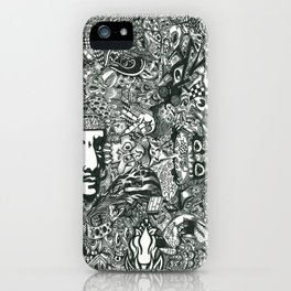 Hello Dali iPhone Case