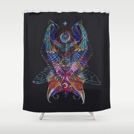 The Totem Entity Shower Curtain