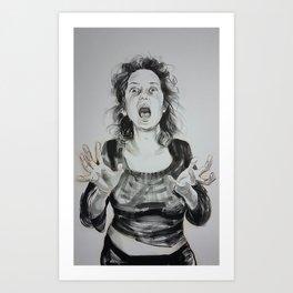 Scream 2016 Art Print