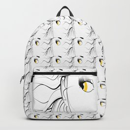 Golden Eyed Girl Backpack
