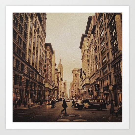 5th Ave Art Print