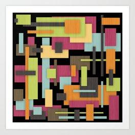 Retrotopia Art Print