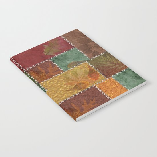 Stitches Of Autumn Notebook