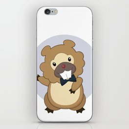 Charming Bidoof iPhone Skin