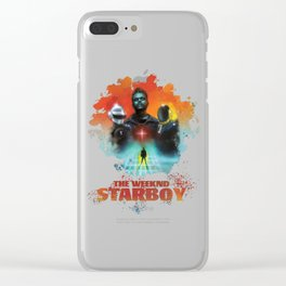 The Weeknd Starboy Clear iPhone Case