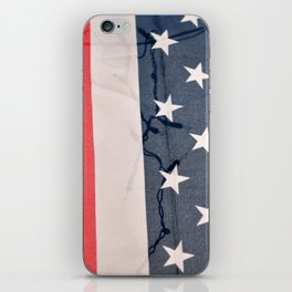 Flag Lights iPhone Skin