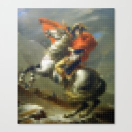 Lego: Napoleon Crossing the Saint-Bernard Canvas Print