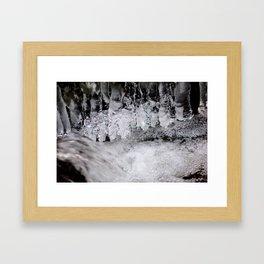 Eis Framed Art Print