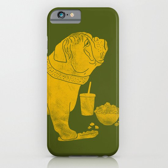 Watching TV iPhone & iPod Case