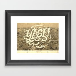 Ypsi! Framed Art Print