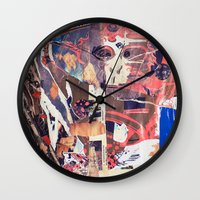 monkey island Wall Clocks featuring monkey by echo3005