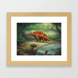 Carrotosaurus Framed Art Print