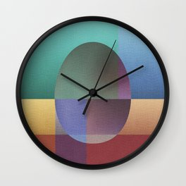 NO WAY OUT (abstract) Wall Clock