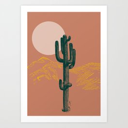 hace calor? Art Print