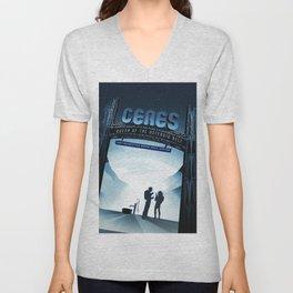 Vintage poster - Ceres Unisex V-Neck