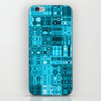 blueprint iPhone & iPod Skins featuring Blueprint by Alice Gosling
