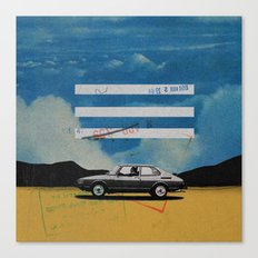 W. Rong | Collage Canvas Print
