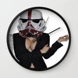 Office Trooper Wall Clock