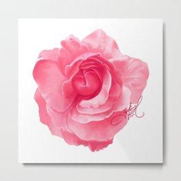 Paint It in Pink Metal Print