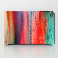 ice iPad Cases featuring Ice Curtain by Klara Acel
