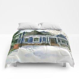 Winter Blues Comforters