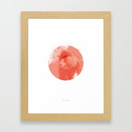 Stylish Bear Framed Art Print