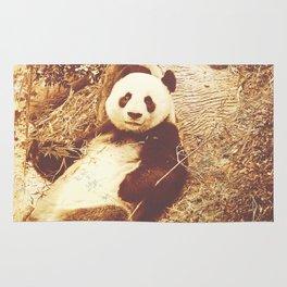 Vintage Animals - Panda Rug