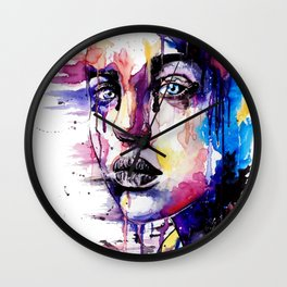 Colored soul Wall Clock