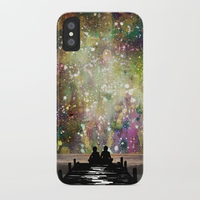 The Universe Was Ours iPhone Case