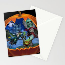 Witch's Magic Spell Stationery Cards