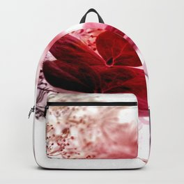 climbing hydrangea red Backpack