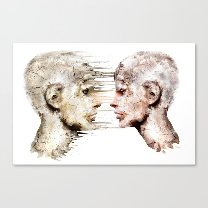 Love is all ! Canvas Print