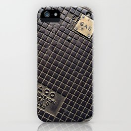 Manhole Cover iPhone Case