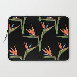 Bird of paradise flowers patten Laptop Sleeve