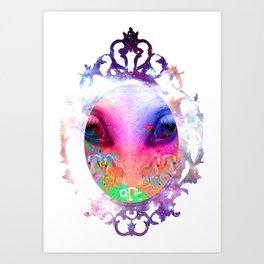 ALIEN HORSE Art Print