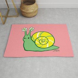 Sweetie Greenie Snail Rug