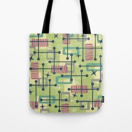 Mid Century Modern Abstract Pattern 832 Tote Bag