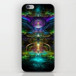 Neons - Fractal - Visionary - Manafold Art iPhone Skin