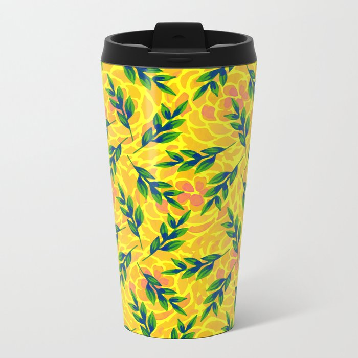 pattern 56 Metal Travel Mug