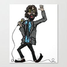 Jarvis Cocker Pulp Canvas Print