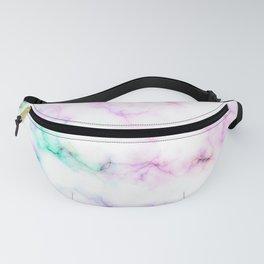 Rainbow marble Fanny Pack