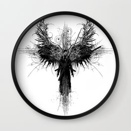 Particles and Angels Wall Clock