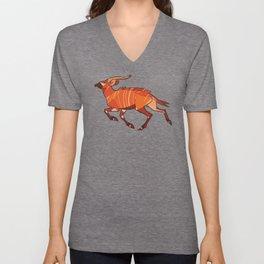 Bongo Antelope Unisex V-Neck