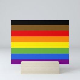 LGBTQIA+ FLAG Mini Art Print