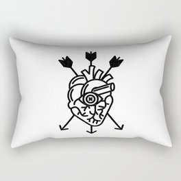 DEAD HEART Rectangular Pillow