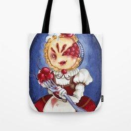 Miss Cherry Pie Tote Bag