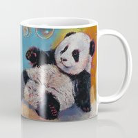bubbles Mugs featuring Bubbles by Michael Creese