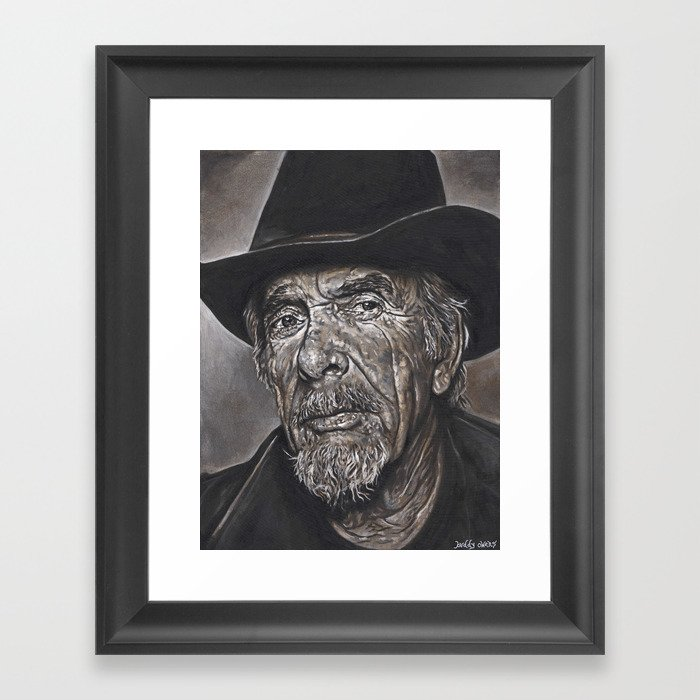 Haggard Outlaw Framed Art Print