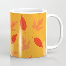 Orange & Red Leaves Coffee Mug
